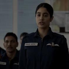 Watch: Janhvi Kapoor takes to the skies in 'Gunjan Saxena: The Kargil Girl'