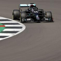 British GP: Mercedes' Lewis Hamilton smashes track record twice to grab pole position