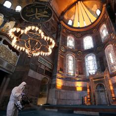 The Hagia Sophia as a palimpsest: Memories of the monument in five acts
