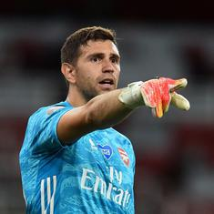 He waited 10 years for a chance at Arsenal. When it arrived, Emi Martinez grabbed it with both hands