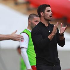 FA Cup final: Mikel Arteta hopes title is the start, Frank Lampard says Chelsea weren't good enough