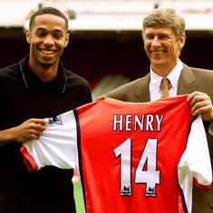 Pause, rewind, play: Thierry Henry & Arsene Wenger – a French connection that revolutionised Arsenal