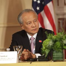 Chinese envoy to US says border dispute should not dominate relations between New Delhi and Beijing