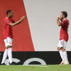 Europa League: Manchester United beat LASK to book quarter-final berth, Lukaku takes Inter through