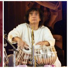 Listen: Talib Hussain and Zakir Hussain play the rare Jai taal