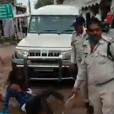 Madhya Pradesh: Video shows police assaulting Sikh man; two officers suspended