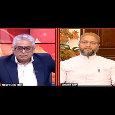 'Are you telling me to move on?': Asaduddin Owaisi's reply to journalist Rajdeep Sardesai goes viral