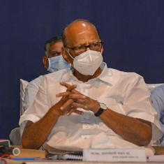 Maharashtra facing 'historic economic crisis', need Centre's help for flood-hit people: Sharad Pawar