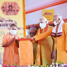 Coronavirus: Ram temple trust head tests positive, was on stage with Modi last week