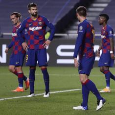 'I'd 8-2 to be a Barcelona fan': Twitter reacts to Messi and Co's humiliating defeat against Bayern