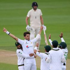 Second Test: Shaheen Afridi strikes early for Pakistan but only 10.2 overs possible on day four
