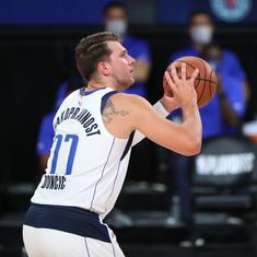 NBA Playoff: Clippers rally to down Mavericks despite Doncic record, Nuggets edge Jazz in overtime