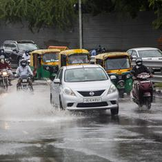 Heavy rain leads to flooding, traffic jams in Delhi, NCR
