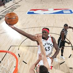 NBA Playoffs: Defending champions Raptors rally to beat Nets, Jazz tie series with Nuggets