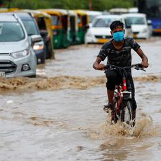 Heavy rain batters Delhi, causes waterlogging and traffic jams