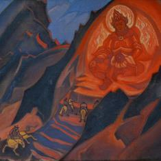 Weekend Quiz: Who painted the 'Himalayan Deity'?