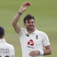 From Sachin Tendulkar to Dale Steyn, tributes pour in as James Anderson picks up 600th Test wicket