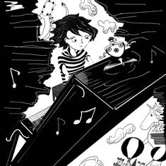 Nandita Basu's graphic novel 'The Piano' is an unusual story of a woman's friendship with music