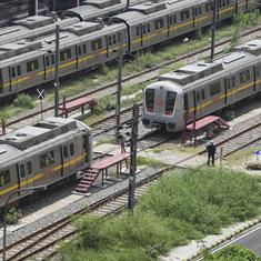Coronavirus: Mandatory thermal screening, masks as Centre issues SOPs for metro rail services