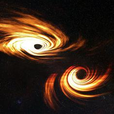 Enormous collision in space leads astronomers to discover the most massive black hole yet