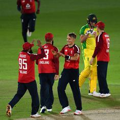 Watch: England complete remarkable turnaround against Australia to clinch thrilling first T20I