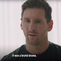 Watch: The Messi interview where he announced decision to stay – and slammed Barcelona's management