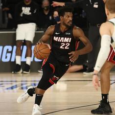 NBA Playoffs: Heat push Bucks to brink of elimination, Rockets shoot past Lakers