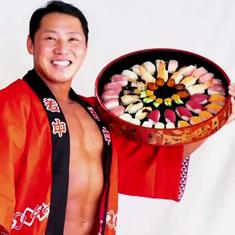 'Delivery macho': A sushi restaurant in Japan is using bodybuilders to home deliver its food