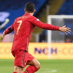 Data check: Cristiano Ronaldo's march to 100 international goals for Portugal