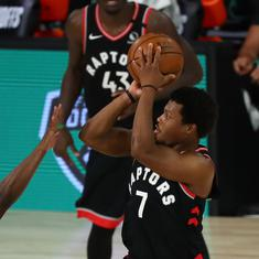 NBA playoffs: Defending champion Raptors outlast Celtics in Game 6 to stay alive