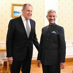 Foreign minister Jaishankar meets Russian counterpart in Moscow, discusses bilateral, strategic ties