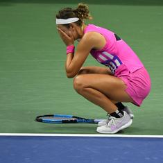 US Open semifinal: Azarenka's win a reminder of how she lost her ranking but not her fighting spirit