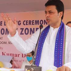 Coronavirus: Tripura CM threatens media for allegedly spreading fake news, 'overexcited reporting'