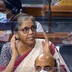 Lok Sabha deletes Trinamool MP's 'personal comment' about Finance Minister Nirmala Sitharaman