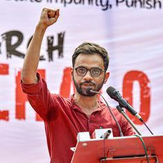 No problems in jail apart from curbing of liberties, Umar Khalid tells Delhi court