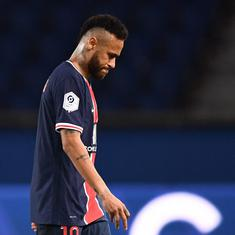 Ligue 1: PSG's Neymar banned for two games after red card against Lille