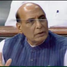 No mutually acceptable solution found to resolve standoff on India-China border, says Rajnath Singh