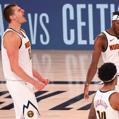 NBA Playoffs: Underdogs Nuggets rally from 1-3 to knock out Clippers, Heat take lead against Celtics
