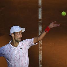 Italian Open: Djokovic tames Ruud to reach final; Halep, Pliskova set up title showdown