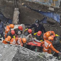 Maharashtra: Toll in Bhiwandi building collapse rises to 22, rescue operations still underway