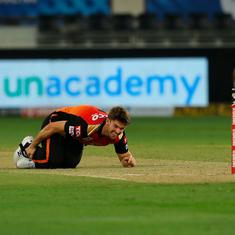 Sunrisers' Mitchell Marsh could be ruled out of IPL 2020 due to ankle injury in RCB game: Report