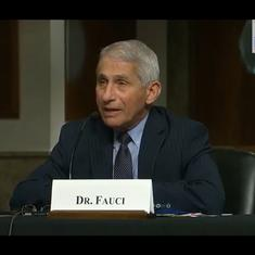 US: Anthony Fauci get surprise birthday greetings outside his office