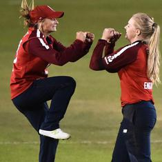 Second T20I: Sarah Glenn's allround show helps England beat West Indies by 47 runs
