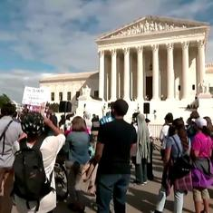 Watch: Protestors gather outside US Supreme court, demand Ruth Ginsburg's seat be filled after polls