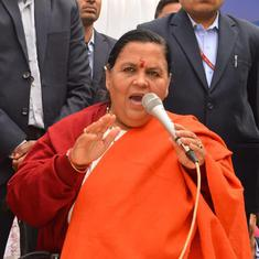Babri Masjid demolition: Uma Bharti says she would 'prefer to hang than seek bail' ahead of verdict