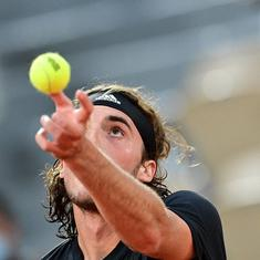 French Open, day 3 men's roundup: Tsitsipas wins a thriller, Djokovic in cruise control