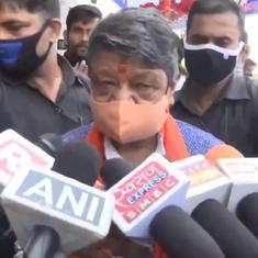 Watch: 'In Yogi's UP, cars can overturn any time', says BJP leader Kailash Vijayvargiya