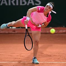 French Open: Zhang emulates Li Na; Jabeur becomes first Arab woman to reach Roland Garros last 16