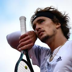 Tennis: Zverev sees off qualifier Harris to reach  Cologne semis, Bautista Agut battles past Hurkacz