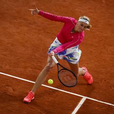 French Open, women's singles wrap: Kvitova makes quarters after eight years, Siegemund reaches first
